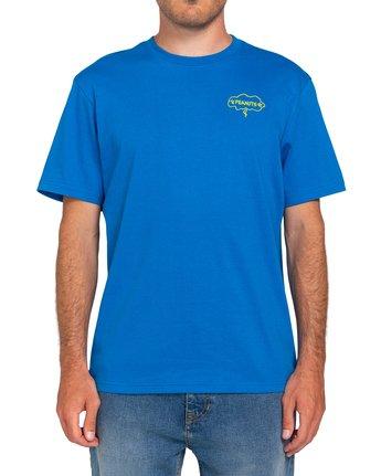 2 Peanuts Slide - T-Shirt for Men Blue W1SSO3ELP1 Element