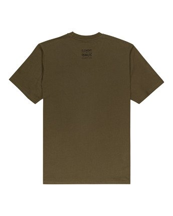 1 Peanuts Element - T-Shirt for Men Green W1SSO5ELP1 Element