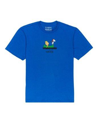 0 Peanuts Element - T-Shirt for Men Blue W1SSO5ELP1 Element