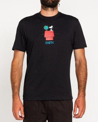 2 Peanuts Element - T-Shirt for Men Black W1SSO5ELP1 Element