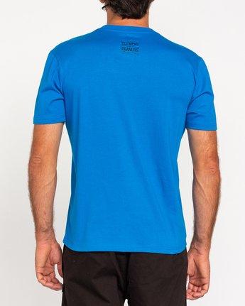 3 Peanuts Element - T-Shirt for Men Blue W1SSO5ELP1 Element