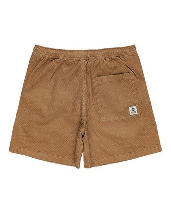 "1 Manual Corduroy 17"" - Corduroy Shorts for Men Grey W1WKC3ELP1 Element"