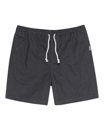 "Manual Twill 17"" - Elasticated Shorts for Men  W1WKC4ELP1"