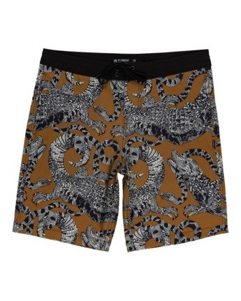 "Illusion 19"" - Hybrid Board Shorts for Men  W1WKD4ELP1"