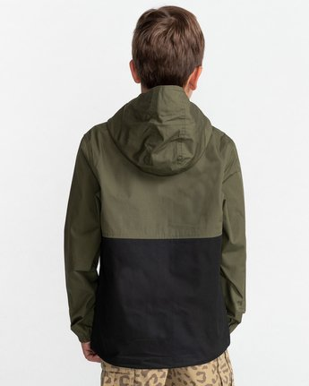 Wolfeboro Alder Light 2 Tones - Lightweight Water Resistant Jacket for Boys  W2JKA6ELP1