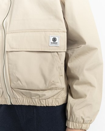 3 Wolfeboro Sashay Light - Water Resistant Jacket for Women Beige W3JKA3ELP1 Element
