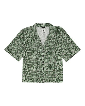 Java - Short Sleeve Shirt for Women  W3SHB1ELP1