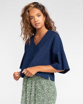 Salto Indigo - Short Sleeve Shirt for Women  W3SHB4ELP1