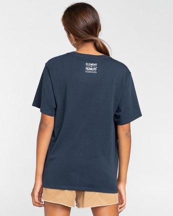 1 Peanuts Simple Living - T-Shirt für Frauen Blau W3SSB2ELP1 Element