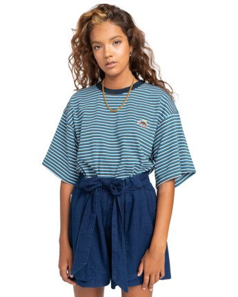 Miki Indigo - Paperbag Shorts for Women  W3WKB9ELP1