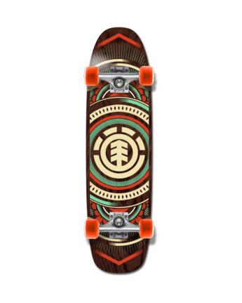 "8.75"" Hatched Cruiser - Skateboard  W4CPB9ELP1"