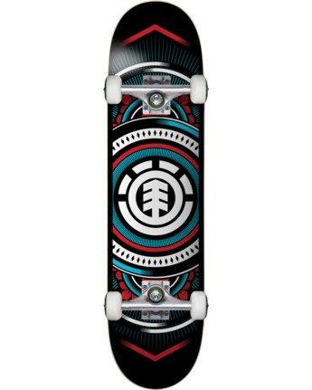 Hatched Blue 8.0 - Skateboard  W4CPC4ELP1