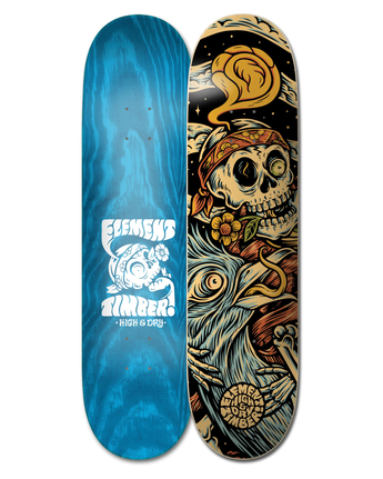 "8.25"" Timber High Dry Skull - Skateboard Deck  W4DCB6ELP1"