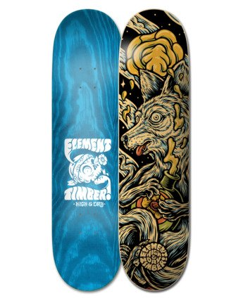 "8.38"" Timber High Dry Wolf - Skateboard Deck  W4DCB8ELP1"