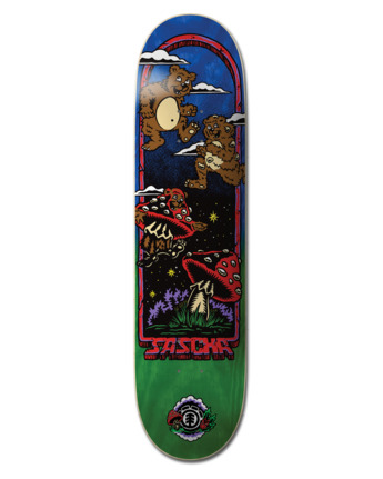 "8.5"" Fun Guy Sascha - Skateboard Deck  W4DCD7ELP1"