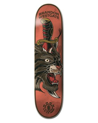 "8.25"" Natural Defense Westgate - Skateboard Deck  W4DCE7ELP1"