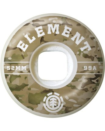 2 Camo Griffin 53mm Wheels Multicolor WHLG3CGF Element