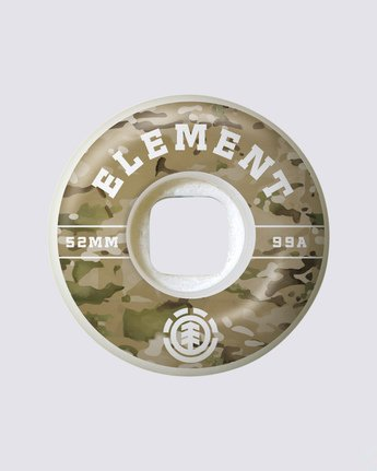 0 Camo Griffin 53mm Wheels Multicolor WHLG3CGF Element