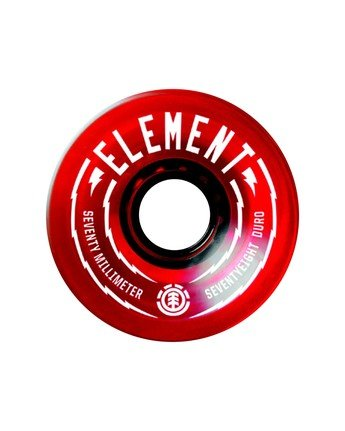 2 Rasta 70mm Wheel Set  WHLGS70R Element