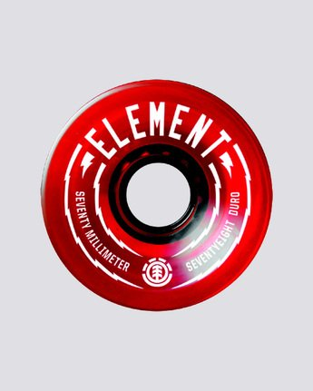 0 Rasta 70mm Wheel Set  WHLGS70R Element