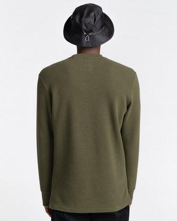 Stornes Waffle - Long Sleeve T-Shirt for Men  Z1LSD1ELF1