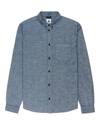 Bold Chambray - Long Sleeve Shirt for Men  Z1SHC9ELF1