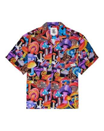 Shrooms - Short Sleeve Shirt for Men  Z1SHD1ELF1