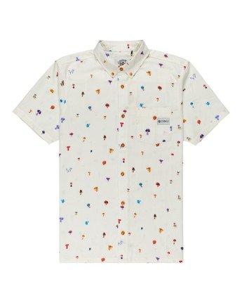 Shrooms Skyway - Short Sleeve Shirt for Men  Z1SHD4ELF1