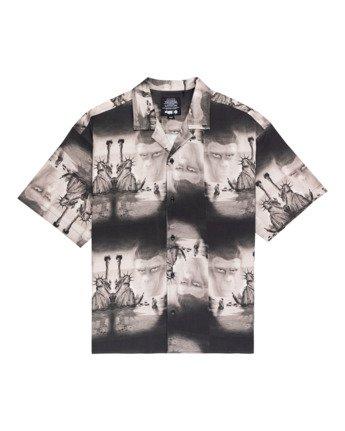 Pota Paradise - Short Sleeve Shirt for Unisex  Z1SHD7ELF1
