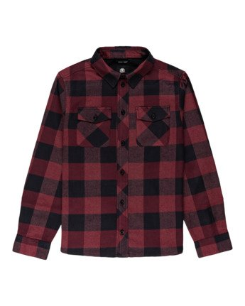 Tacoma 2 - Hooded Flannel Shirt for Boys  Z2SHB1ELF1