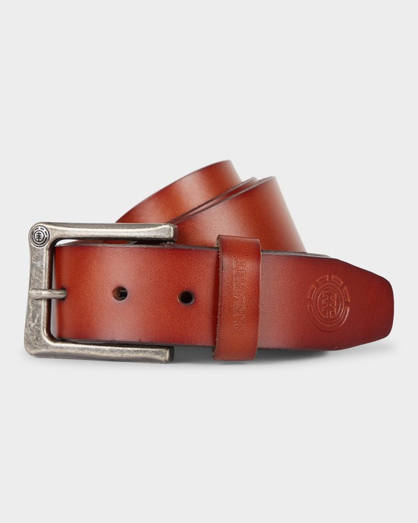 0 POLOMA LEATHER BELT Brown 163721 Element