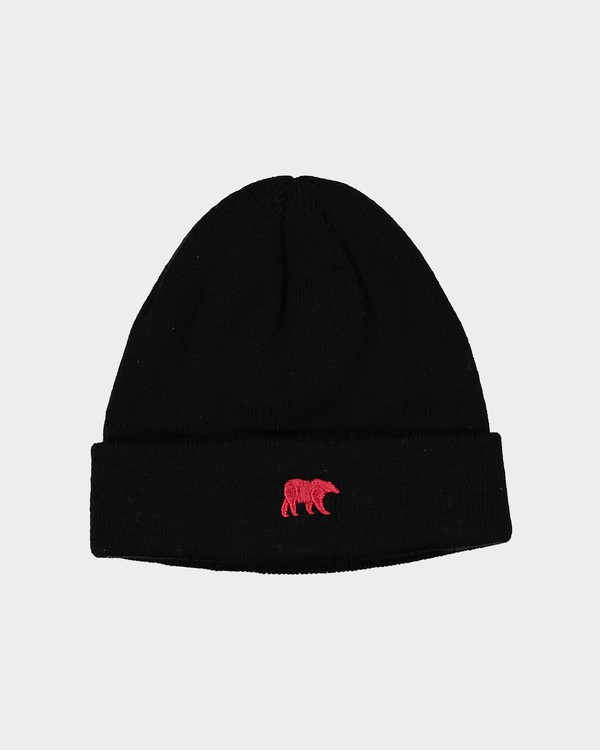 0 CA Bear Beanie Black 186814 Element