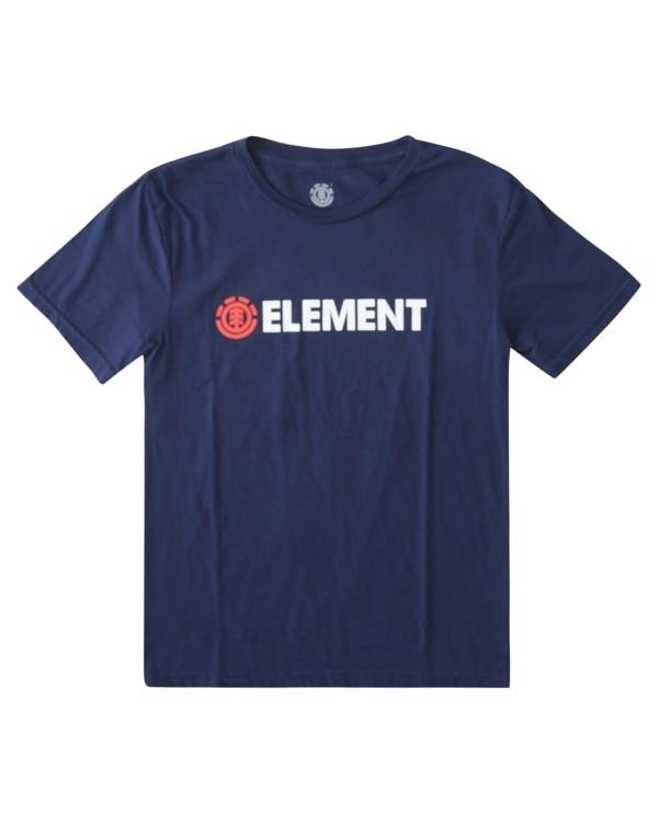 0 Boys' Blazin' Short Sleeve T-Shirt  ALBZT00174 Element