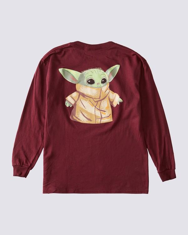 0 Boys' Star Wars™ x ELEMENT Long Sleeve T-Shirt Red ALGZT00101 Element