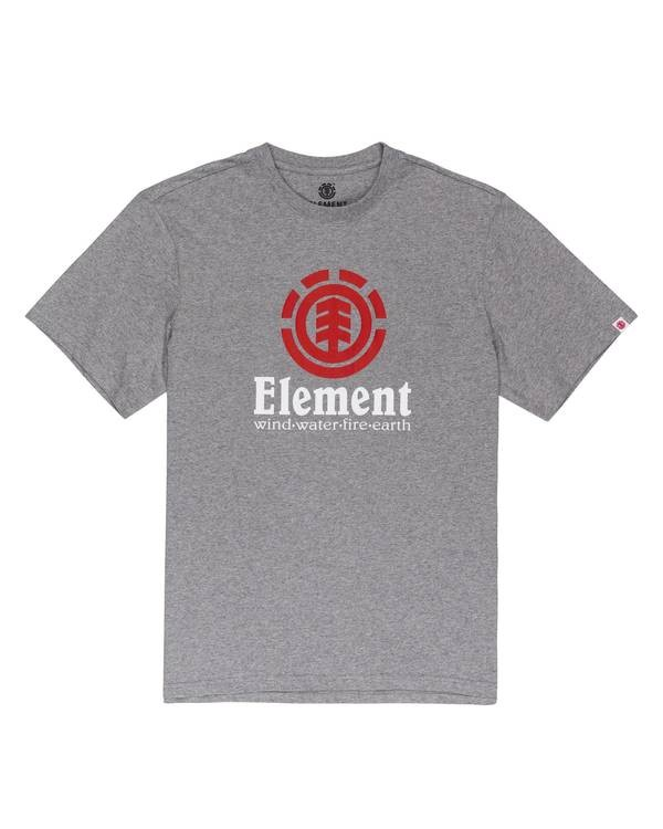 0 Vertical T-Shirt Grey ALMZT00129 Element