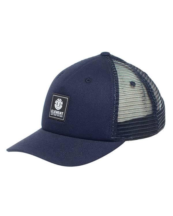 0 Icon Mesh Trucker Hat Blue ALYHA00103 Element