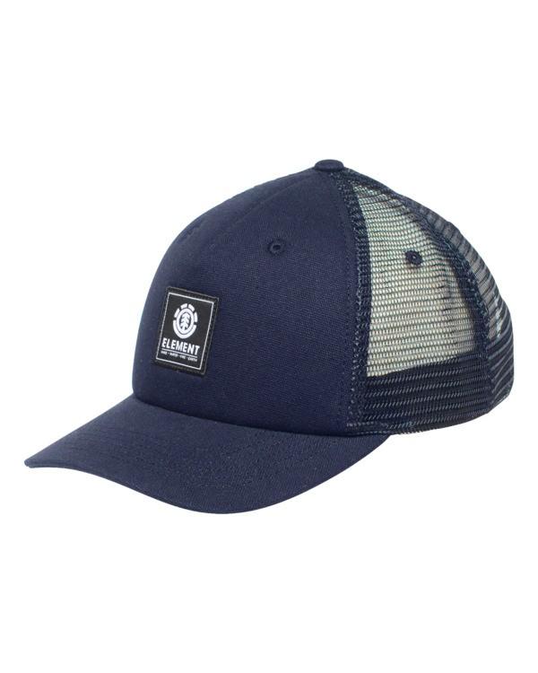 0 Icon Mesh Trucker Hat Blue ALYHA00126 Element