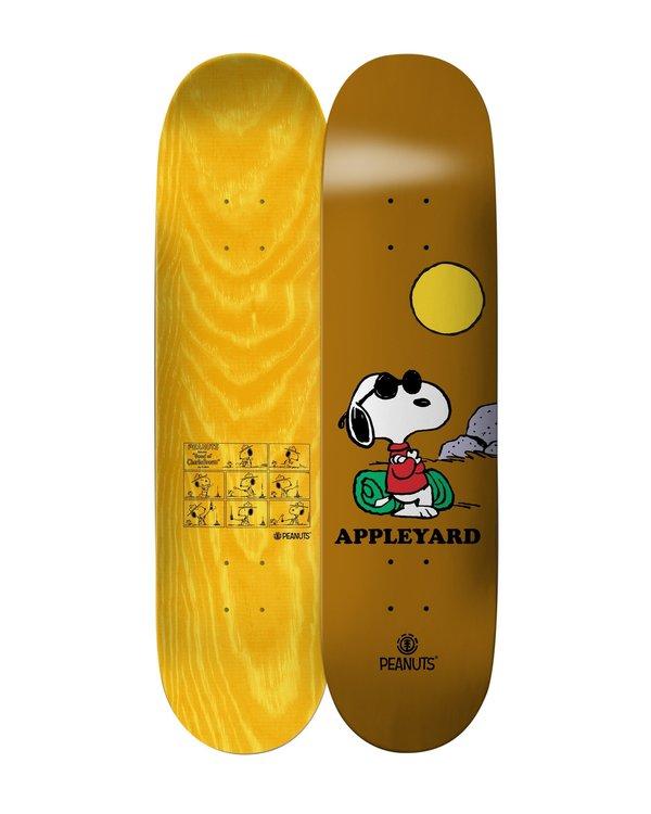 0 Peanuts Joe Cool X Appleyard Skateboard Deck Multicolor ALYXD00113 Element