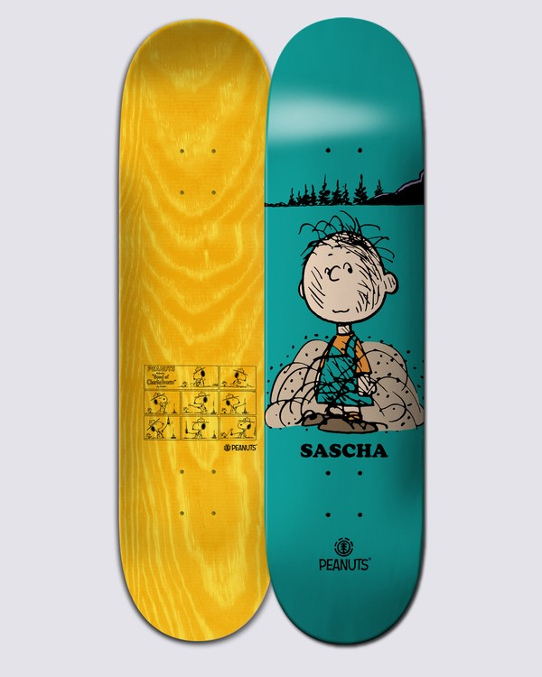 0 Peanuts Pigpen X Sascha Skateboard Deck Multicolor ALYXD00115 Element