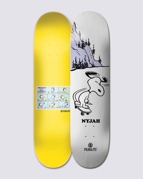 0 Peanuts Snoopy X Nyjah Skateboard Deck  ALYXD00117 Element
