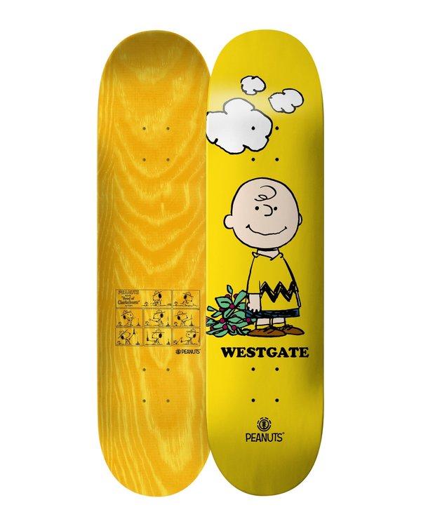 0 Peanuts Charlie Brown X Westgate Skateboard Deck  ALYXD00118 Element