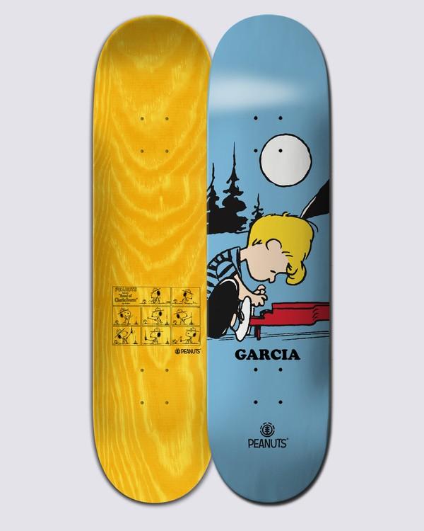 0 Peanuts Schroeder X Nick Garcia Skateboard Deck Multicolor ALYXD00119 Element