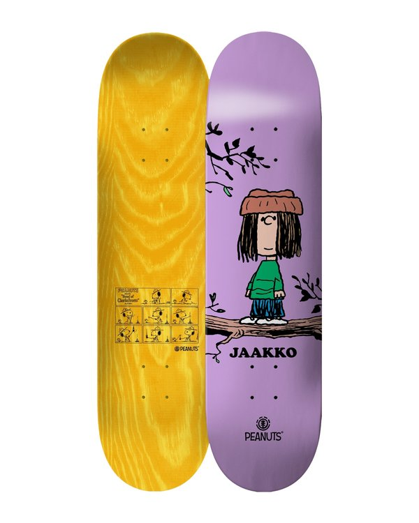 0 Peanuts Eudora X Jaakko Skateboard Deck Multicolor ALYXD00124 Element