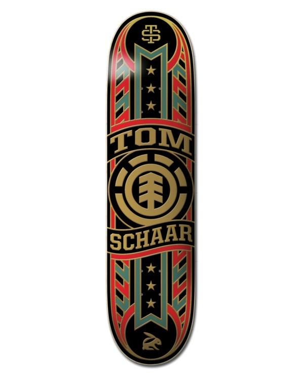 0 Banner Year Schaar Skateboard Deck  ALYXD00132 Element