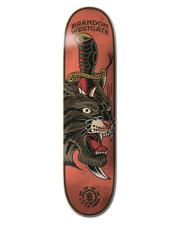 0 Natural Defense Westgate Skateboard Deck Multicolor ALYXD00150 Element