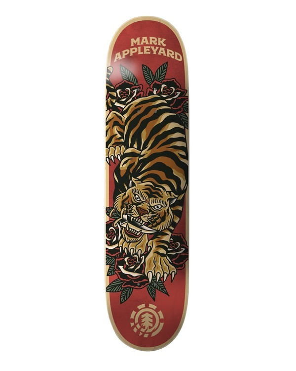 0 Natural Defense Appleyard Skateboard Deck Multicolor ALYXD00155 Element