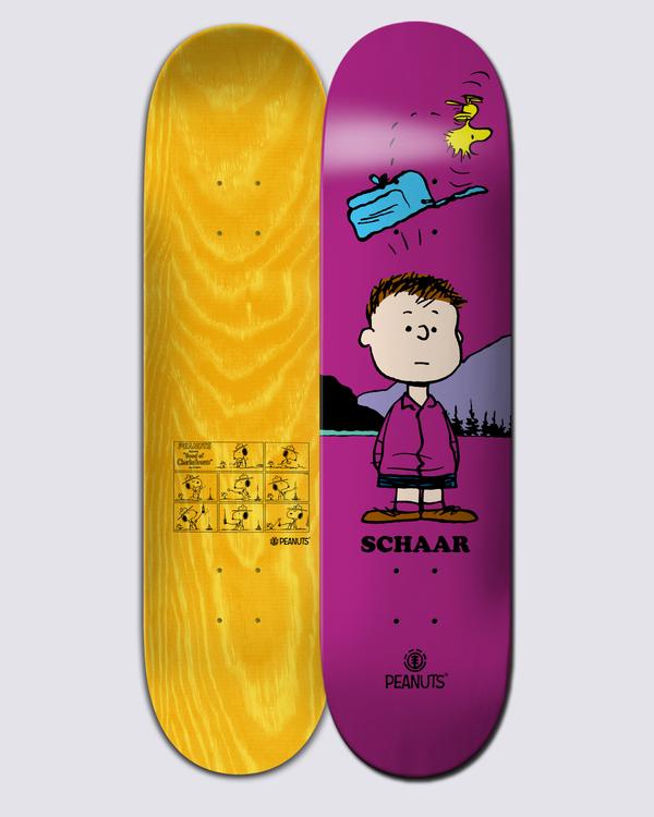 0 Peanuts Shermy X Schaar Skateboard Deck Multicolor ALYXD00157 Element