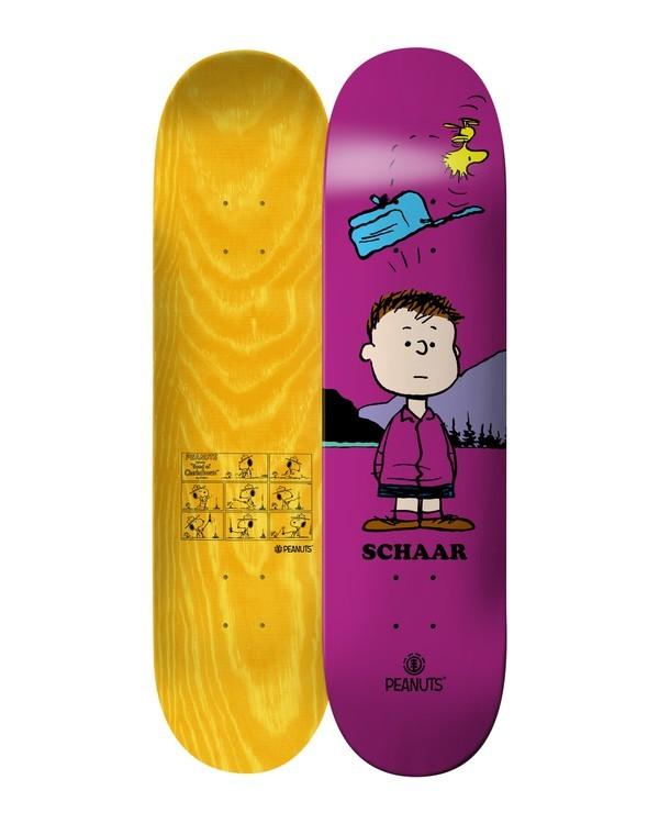 0 Peanuts Shermy X Schaar Skateboard Deck  ALYXD00157 Element
