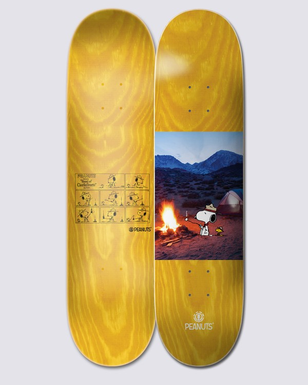 0 Peanuts x Element Fire Skateboard Deck Multicolor ALYXD00164 Element