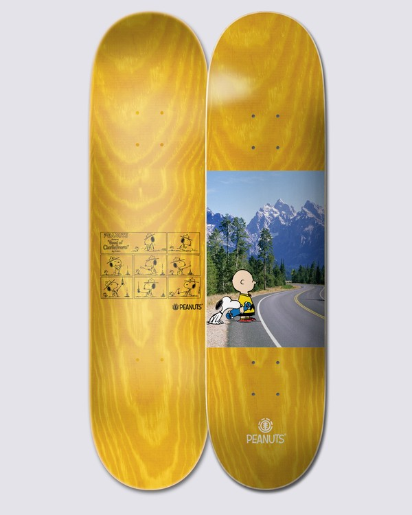0 Peanuts x Element Earth Skateboard Deck Multicolor ALYXD00165 Element